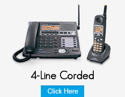 Panasonic 4 Line Corded Phones