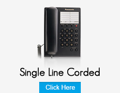 Panasonic Single Line Corded Phones