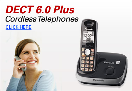 Cordless Telephones DECT 6.0 Plus