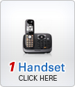 1 Handset + Talking Caller ID