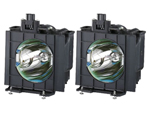 Panasonic Bts Etlad55w Replacement Projector Lamp - Twin Pack