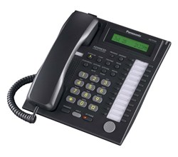Panasonic Corded Business Phones panasonic kx t7731 black