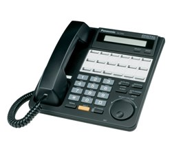 Panasonic Corded Business Phones panasonic kx t7431 black