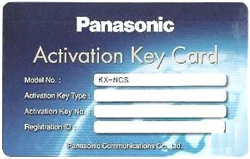 Panasonic IP Phone Port Activation Keys panasonic bts kx ncs3208