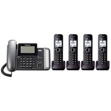 Panasonic Multi Line Phones panasonic KX TG9582B 2 KX TGA950B