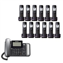 Panasonic Multi Line Phones panasonic kx tg9582b kx tga950b