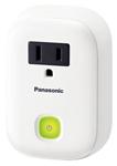 """Panasonic KX-HNA101W, The Panasonic KX-HNA101W is a smart plug for Panasonic Home Monitoring System"