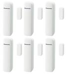 Panasonic KX-HNS101W-(6 Pack) Home Monitoring Window Door Sensor