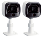 Panasonic KX-HNC600W-(2 Pack) Home Monitoring Outdoor Camera