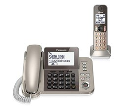 Panasonic Corded Cordless Phones panasonic kx tgf350n