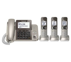 Panasonic Corded Cordless Phones panasonic kx tgf353n
