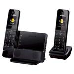 Panasonic KX-PRD262B-R 2 Handset Premium Series Cordless Phone