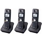 Panasonic KX-TGA600B-R (3-Pack) 5.8GHz Extra Handset / Charger