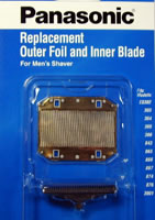 Panasonic Mens Replacement Foil Blade Combo Packs panasonic wes9979p