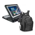 Panasonic BTS CF-20A0204VM with backpack 10.1 Inch Fully Rugged Detach 374380-5