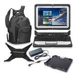 Panasonic BTS CF-20A0001VM Bundle 10.1-inch Fully-Rugged Laptop