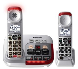 Panasonic Single Line Cordless Phones panasonic kxtgm450 s tgma45 s