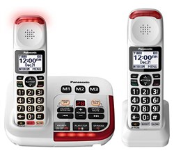 Panasonic Amplified Phones panasonic kx tgm420w 1 kx tgma44w