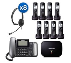 Panasonic Corded Phones panasonic kx tg9582b 6 kx tga950b