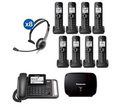 Panasonic DECT 6 Multi Line Phones panasonic kx tg9582b 6 kx tga950b