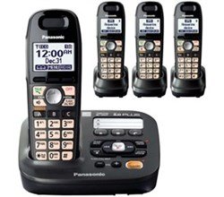 Panasonic DECT 6 Cordless Phones panasonic kx tg6592t 2 tga659t
