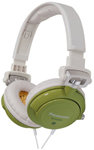 """Panasonic RP-DJS400-Green Brand New Includes 90 Days Warranty, The Panasonic RP-DJS400 DJ style headphones are vibrant headphones with a stylish design and tuned bass for awesome sound"