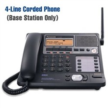 Panasonic 58GHz Cordless Phones panasonic kx tg4500 base only