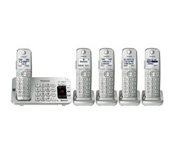 Panasonic 5  Handsets Cordless Phones kx tge475s