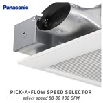 Panasonic FV-0510VS1 Whisper Ceiling Ventilation Fan 435699-5