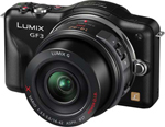 Panasonic DMC-GF3XK Lumix Digital Camera