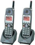 Panasonic KX-TGA650B-R (2 Pack) 5.8GHz Cordless Handset