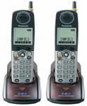 Panasonic KX-TGA550M-R (2-Pack) 5.8GHz Cordless Handset