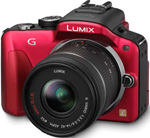 Panasonic DMC-G3KR-R Lumix Digital Camera