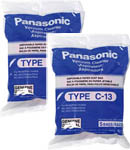 Panasonic AMC-S5EP-2 5-Pack Of Canister Vacuum Bags