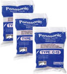 Panasonic AMC-S5EP-3 5-Pack Of Canister Vacuum Bags