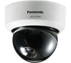 Panasonic Analog  Dome Cameras panasonic wv cf344