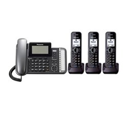 Panasonic Multi Line Phones panasonic KX TG9582B 1 KX TGA950B