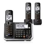 Panasonic KX-TG6843B 3 Handset Cordless Phone