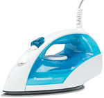 """Panasonic NI-E200T Brand New Includes One Year Warranty, The Panasonic NI-E200T is the hassle-free steam/dry iron which boasts Titanium with non-Stick coating curved soleplate, which gives you a hassle free ironing"