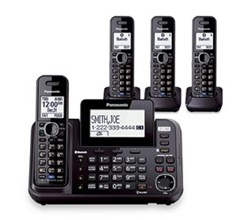 Panasonic Multi Line Phones panasonic kx tg9552b + 2 kx tga950b
