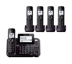 Panasonic DECT 6 Multi Line Phones panasonic kx tg9552b + 3 kx tga950b