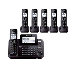 Panasonic Multi Line Phones panasonic kx tg9552b + 4 kx tga950b