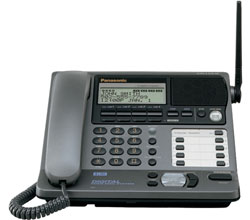 Panasonic Corded Phones panasonic kx tg4000 base only