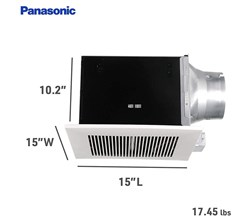 Panasonic WhisperCeiling Fans Panasonic fv 30vq3