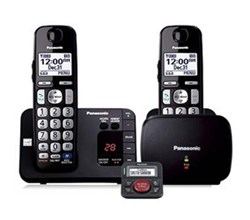 Hot Deals panasonic kx tge232b with range extender and call blocker