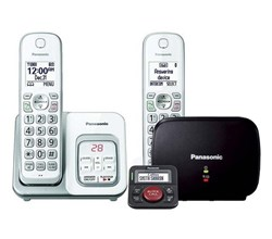 Panasonic DECT 6 Cordless Phones panasonic kx tgd532w with range extender and call blocker