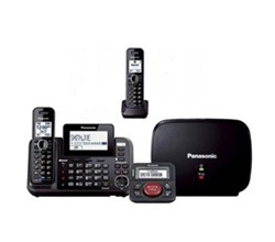 Panasonic Multi Line Phones panasonic kx tg9542b with range extender and call blocker
