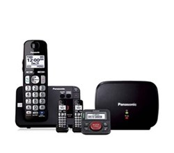 Hot Deals panasonic kx tge233b with range extender and call blocker