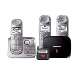Panasonic DECT 6 0 3 Handsets panasonic kx tgl463s with range extender and call blocker