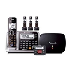 Panasonic Bluetooth Powered Link to Cell  panasonic kx tg7874s with range extender and call blocker